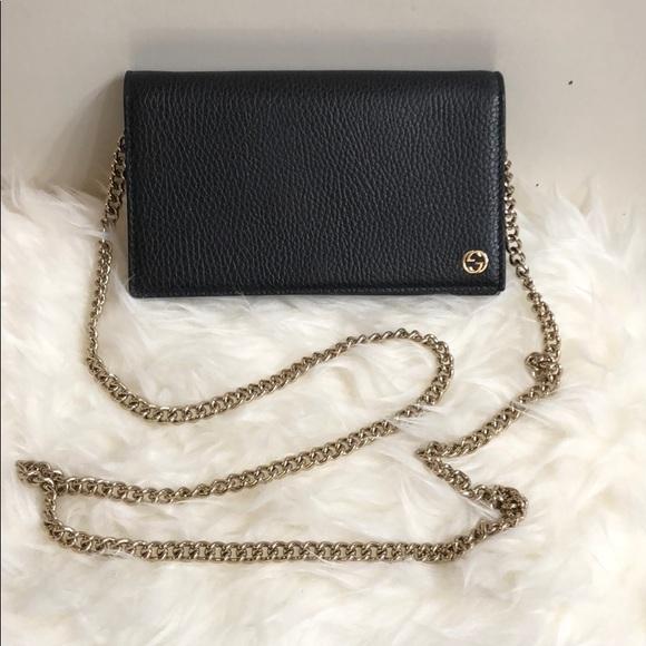 b7c778c0c412 Gucci Bags | Betty Mini Wallet On Chain | Poshmark